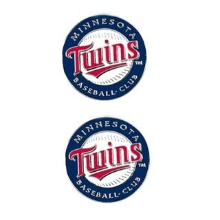 Minnesota Twins Post Stud Earrings