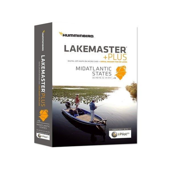 Humminbird Lakemaster Digital GPS Maps