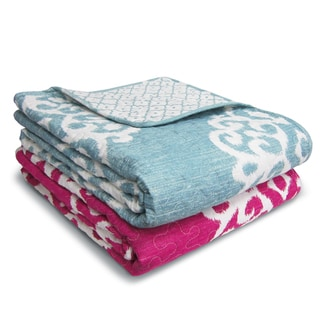 Lush Decor Sophie Damask Throw Blanket
