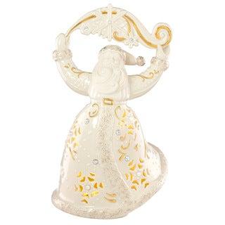 Lenox Florentine And Pearl Christmas Santa Figurine