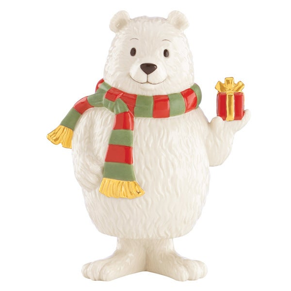 Lenox Holiday Bobbles Bear Figurine