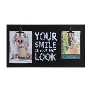 Melannco 'Your Smile' Sentiment 2-opening Clip Frame