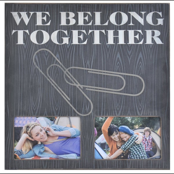 Melannco We Belong Together Collage Picture Frame