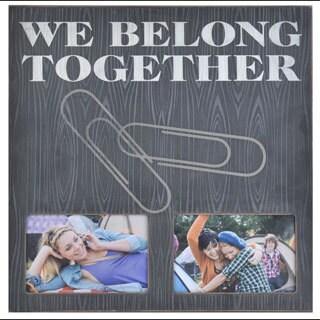 Melannco We Belong Together Collage Picture Frame