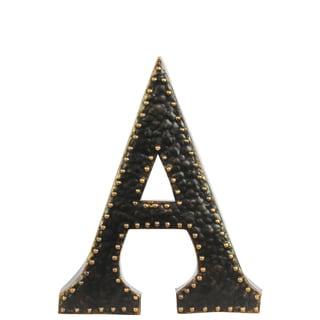 Black Metal Letter 'A'