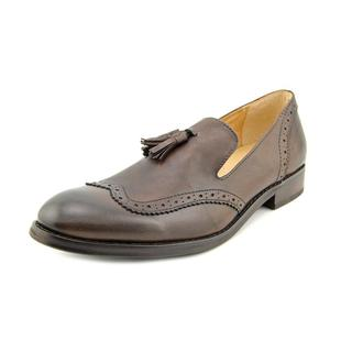 J.D.Fisk Men's 'Alfie' Leather Dress Shoes