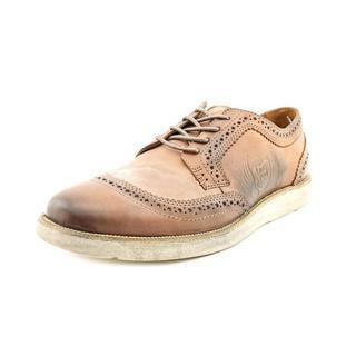 Von Dutch Men's 'Drillbit' Leather Casual Shoes