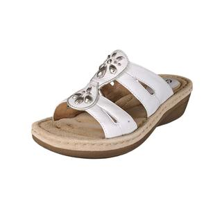 Clarks Women's 'Posey Lynn' Leather Sandals