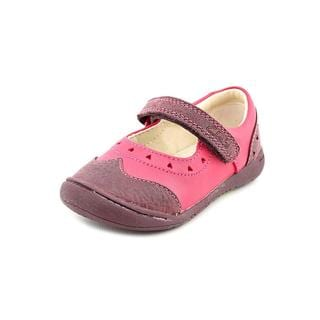 Clarks Girl (Toddler) 'Ritzy Boo First' Leather Casual Shoes