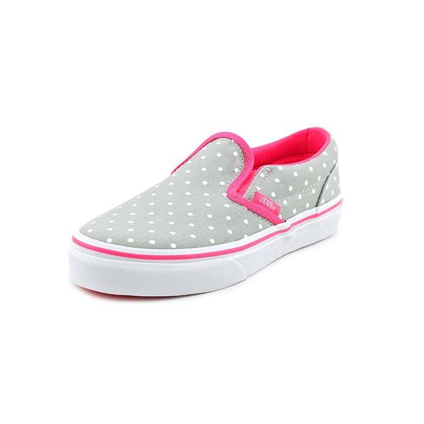 Vans Girl (Youth) 'Classic Slip-On' Basic Textile Casual Shoes