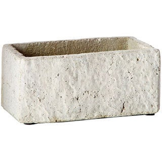 Natural Stone Concrete Rectangle Planter