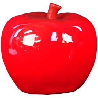Red Ceramic Apple