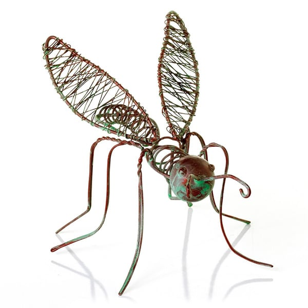 Wire Bug Sculptures (Set of 6)