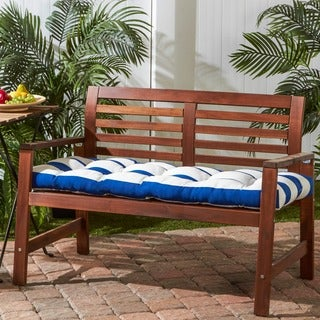 Outdoor Cabana Stripe Bench Cushion