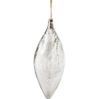 Glass 85-inch Feather Quill Ornament
