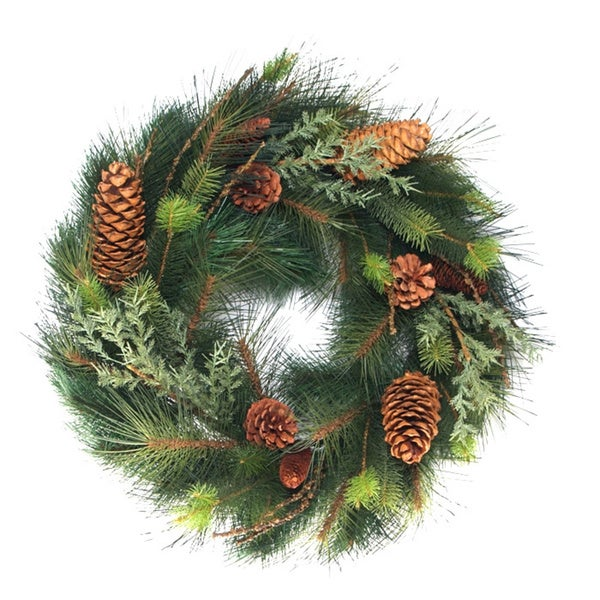 Pine Fir and Juniper Wreath