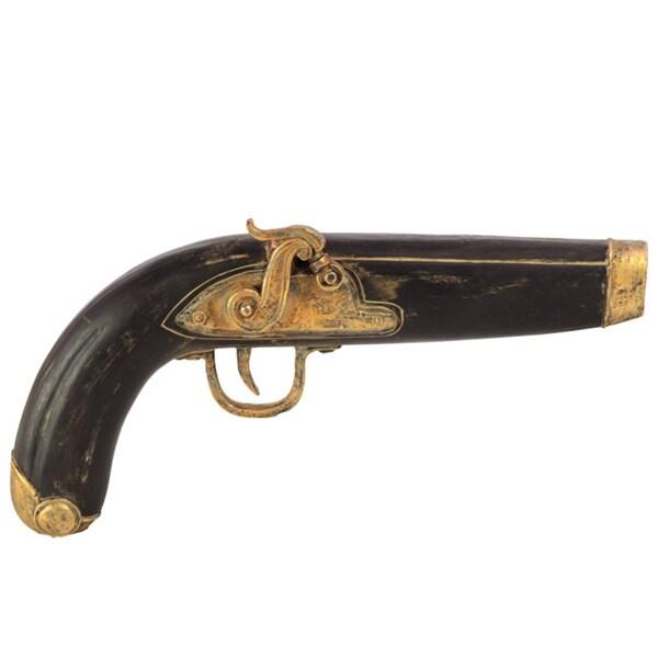 Black Resin Classic Pistol