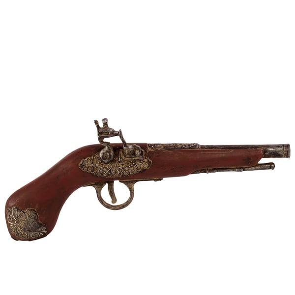 Brown Resin Classic Pistol