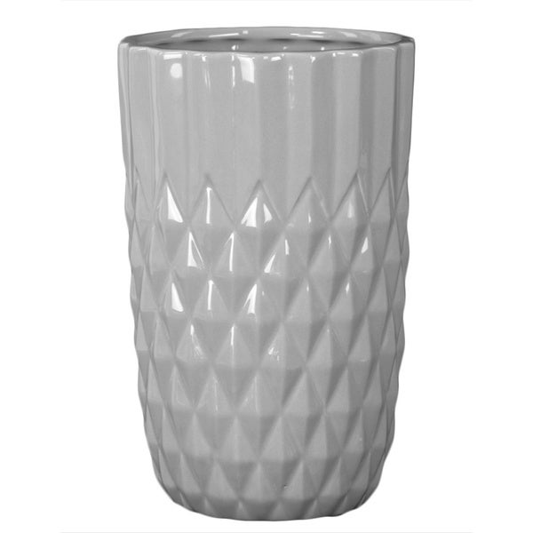Small Grey Ceramic Vase