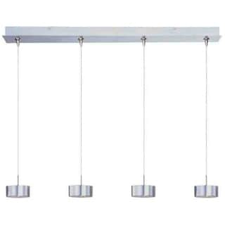 Percussion Linear Nickel 4-Light Pendant