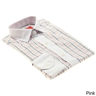Elie Balleh Men's Slim Fit Collared Dress Shirt