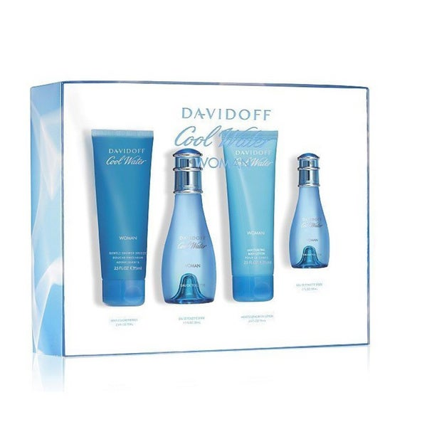 Davidoff Cool Water Women's 4-piece Fragrance Set