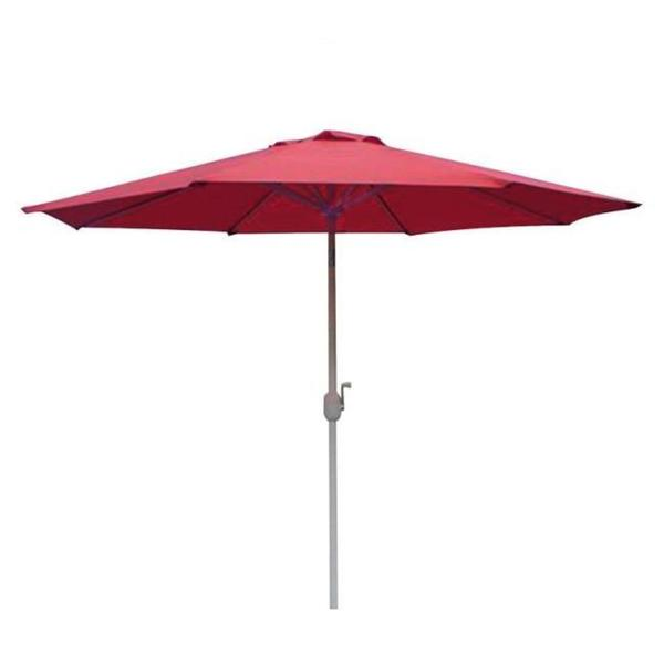 Fantasy Polyester Red Patio Umbrella