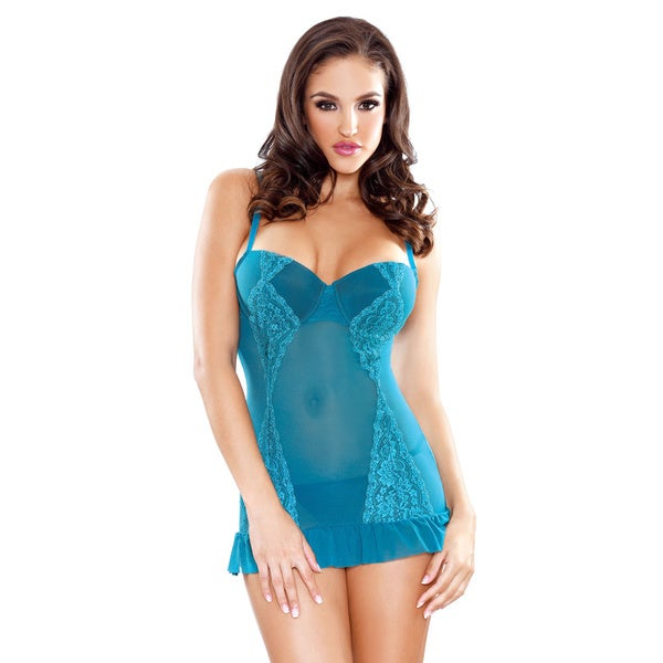 Fantasy Lingerie Chemise with Matching G-string