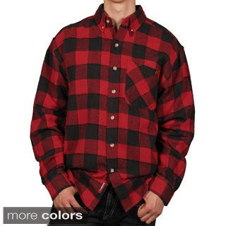 Case IH Men's Buffalo Plaid Flannel Shirt