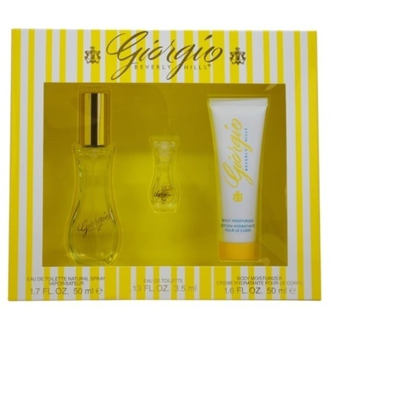 Beverly Hills Giorgio Yellow Women's 3-piece Fragrance Set