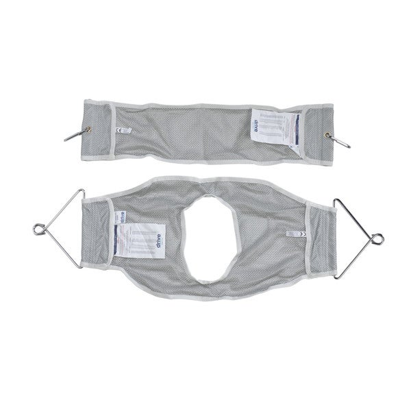 Drive Medical 2-piece Patient Lift Sling with Commode Opening
