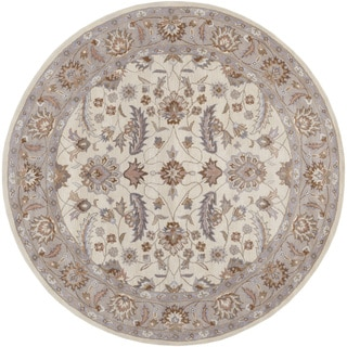 Hand-tufted Tiana Traditional Wool Rug (9'9 Round)