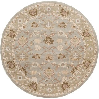 Hand-tufted Nick Traditional Wool Rug (6' Round)