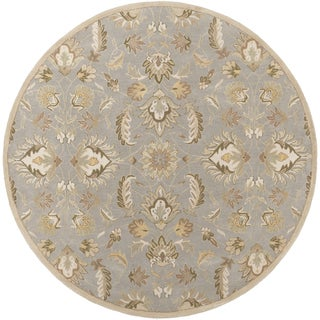Hand-tufted Ty Traditional Wool Rug (9'9 Round)