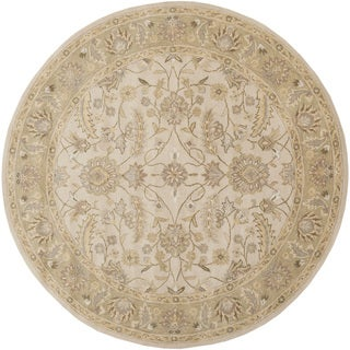Hand-tufted Tiana Traditional Wool Rug (6' Round)