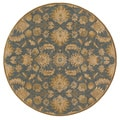 Hand-tufted Ty Traditional Wool Rug (4' Round)