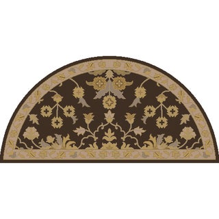 Hand-tufted Karla Traditional Wool Rug (2' x 4' Hearth)