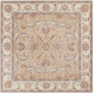 Hand-tufted Reid Traditional Wool Rug (8' Square)