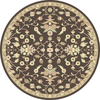 Hand-tufted Karla Traditional Wool Rug (8' Round)