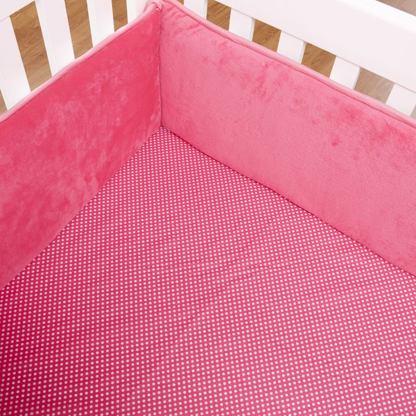 Simplicity Hot Pink Crib Sheet
