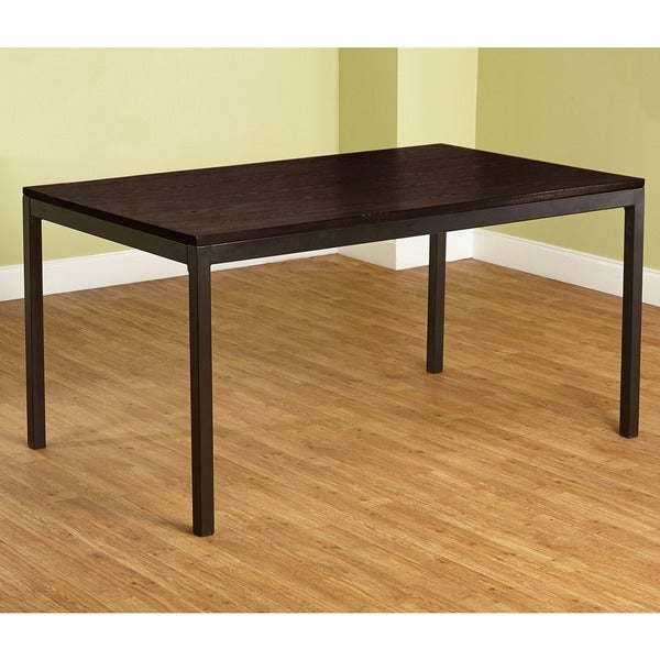 simple living everson dining table 16872120 overstock shopping