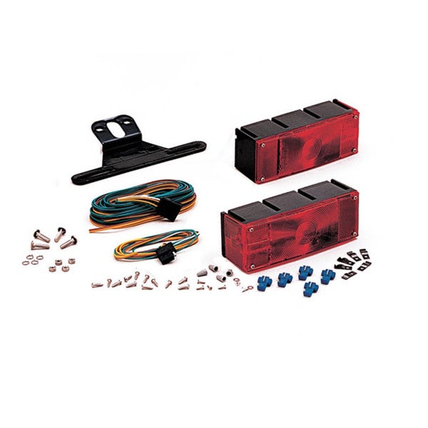 Optronics Waterproof Trailer Light Kit with SS hardware