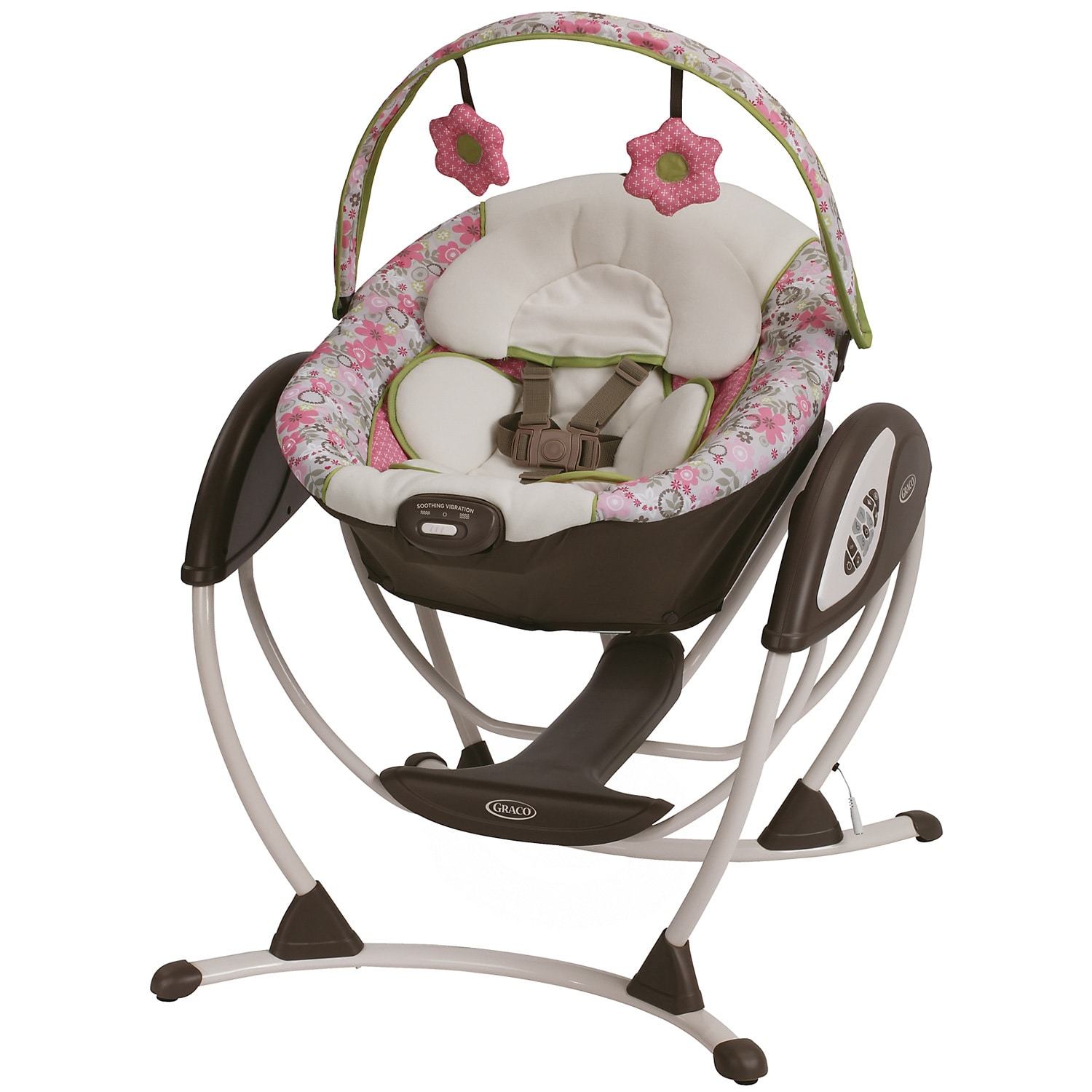 Graco Glider Lx Gliding Swing In Renee Overstock