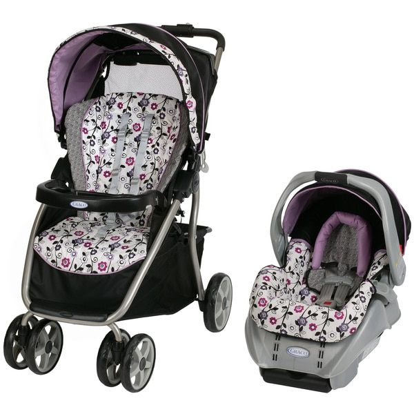 Graco DynamoLite Travel System in Paige