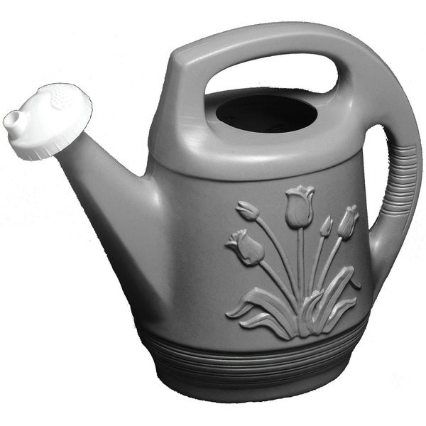 Bloem 2-gallon Promo Peppercorn Watering Can with Rotating Nozzle