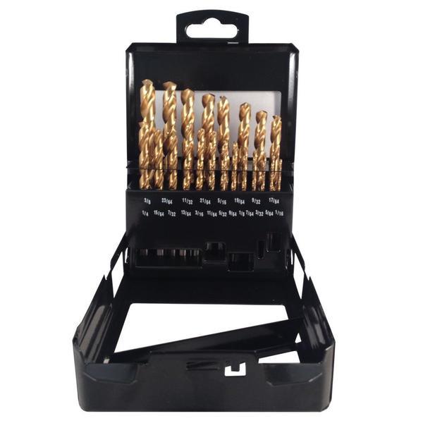 Disston Tool BLU-MOL Titanium Drill Bits 21-piece Set