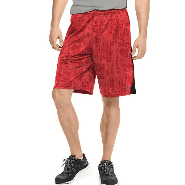 Men's Champion Vapor PowerTrain Knit Shorts Black