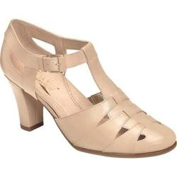 Women's Aerosoles Doppler Radar T Strap Nude Leather