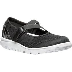 Women's Propet TravelActiv Mary Jane Black Nylon Mesh/Polyurethane