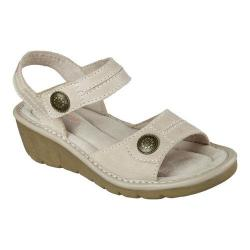 Women's Skechers Cameo Character Ankle Strap Sandal Natural